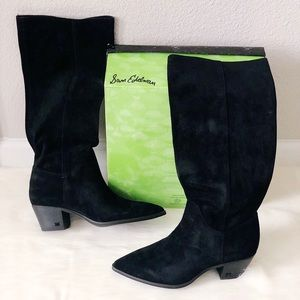 ✨New SAM EDELMAN Rowena Suede Pointed Knee Boots